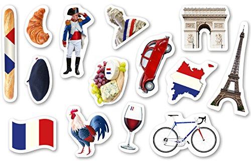 Vive la france 10 fahnen blau wei rot frankreich fahne for Frankreich dekoration
