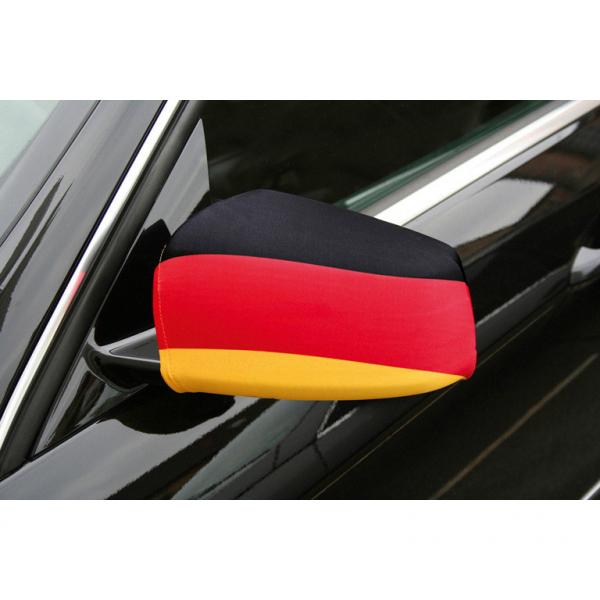 Außenspiegel Fahne Deutschland Fußball