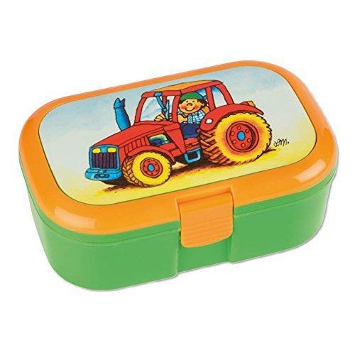 Brotzeitbox Lunchbox Traktor von Lutz Mauder