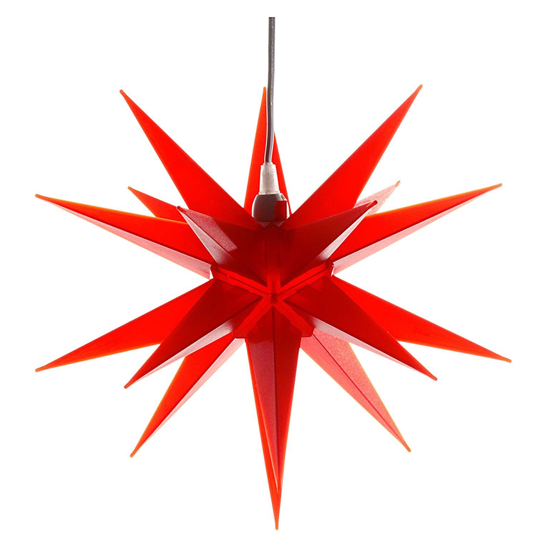"""Lampe Stern """"Der rote Weihnachtsstern"""""""
