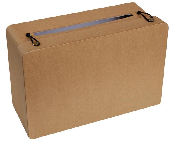 Geschenke- Geldbox Koffer natur