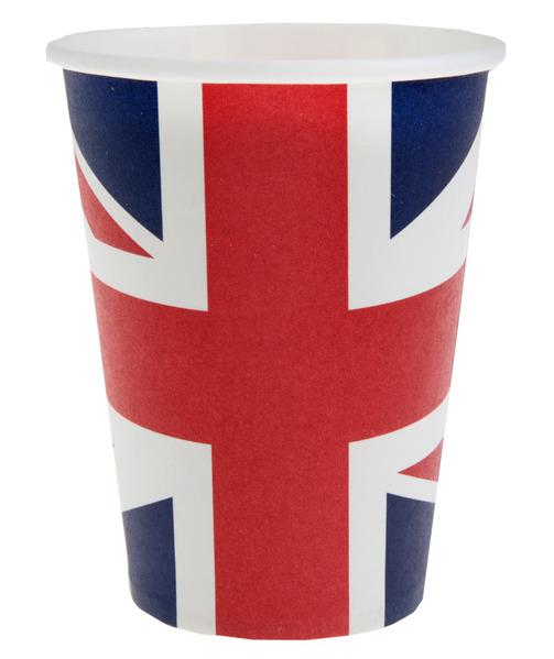 Länderdekoration Party Becher England