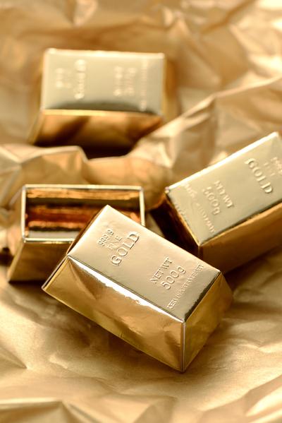 Geschenkverpackung Der Goldbarren für alle Besonderheiten