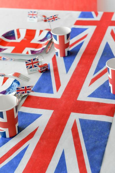 Tischband Tischläufer England Fahne
