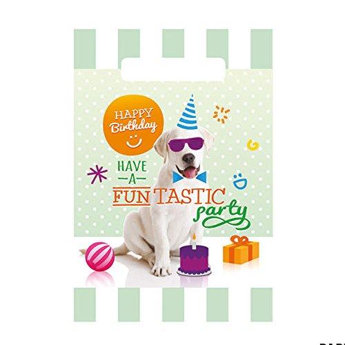 "Trendy Dog ""Happy Birthday"" Party Tüten"