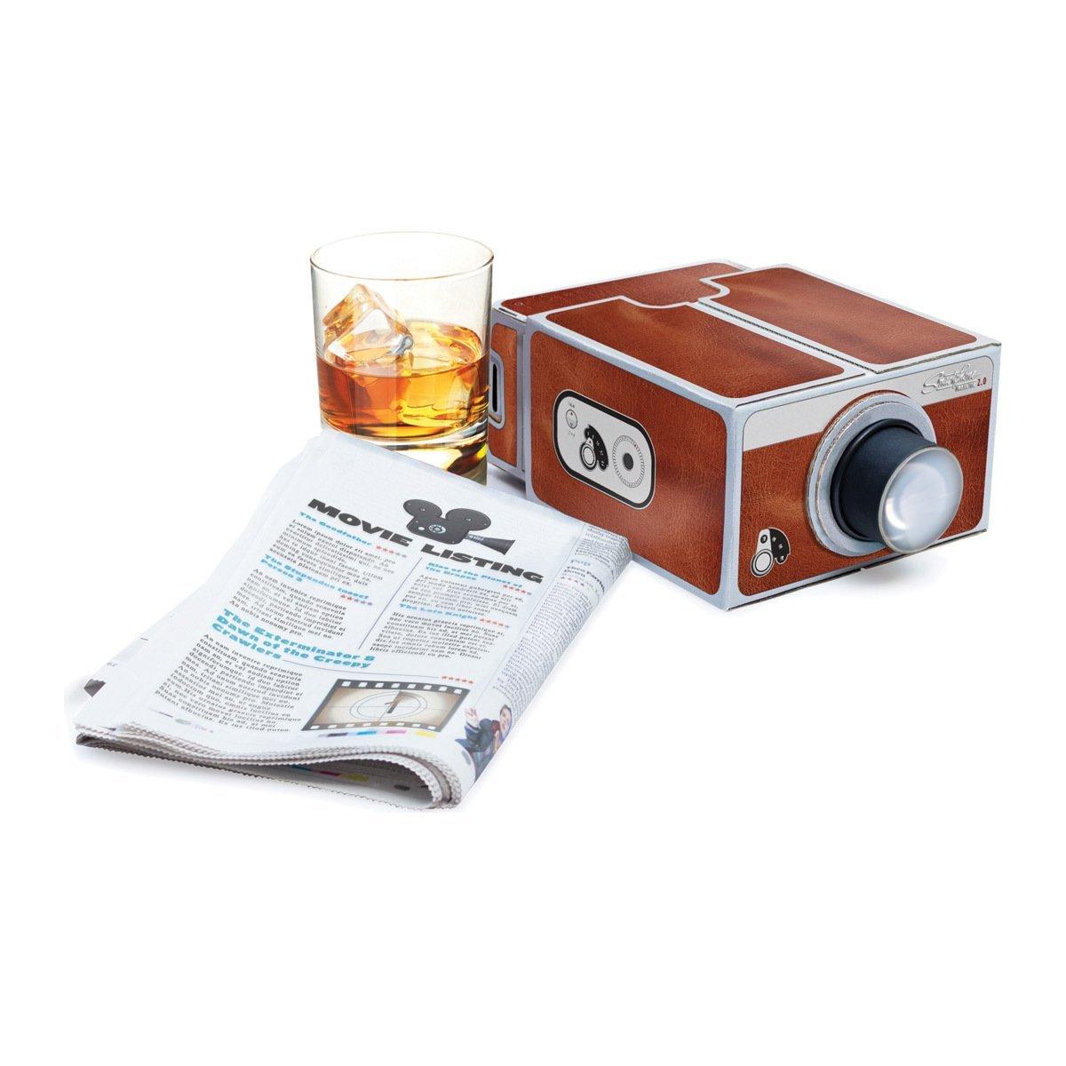 Geschenke Luckies Smartphone Projektor Mini Projektor Deluxe Deko NEU
