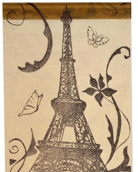 Tischband Tischläufer Eifelturm Paris ... Paris gold