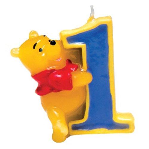 Disney Winnie the Pooh Zahlenkerze 1. Geburtstag