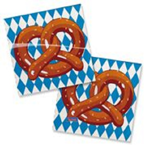 Oktoberfest Party Servietten 25 x 25 cm von Folat