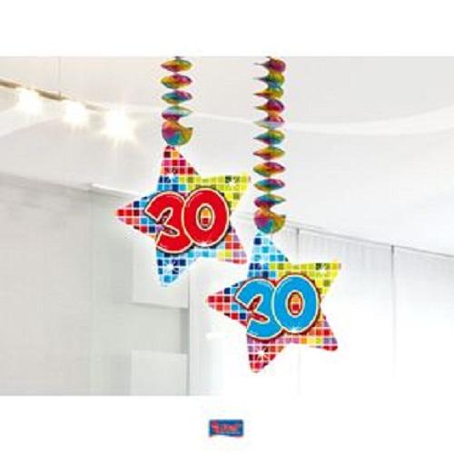 30 Jahre Geburtstag Deko Swirl Girlande Folat