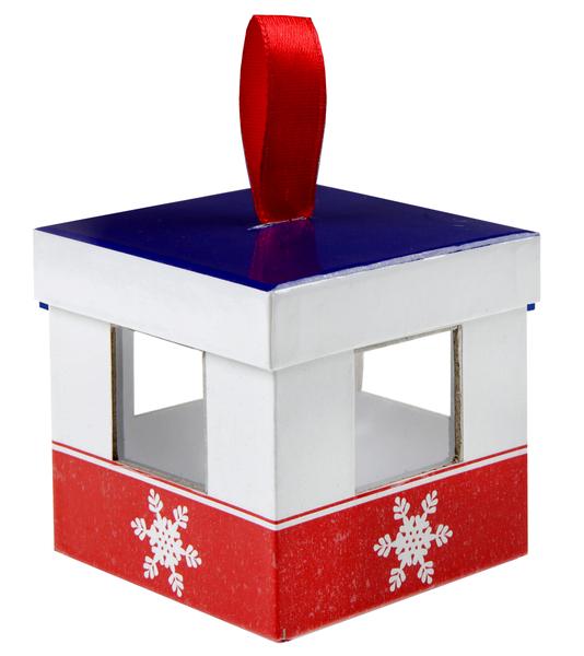 Weihnachten, Winter .oder Apres Ski Party 4 Gondeln Geschenkverpackung