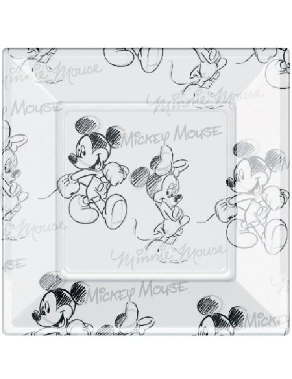 disney mickey mouse face servietten tischdeko papierservietten napkins deko. Black Bedroom Furniture Sets. Home Design Ideas
