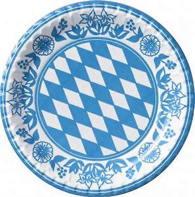 50 Party Teller bayrische Raute von Duni