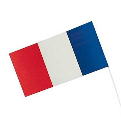 Vive la France 10 Fahnen Frankreich Länderdekoration