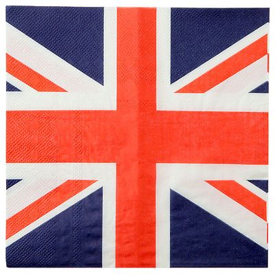England London Party Servietten