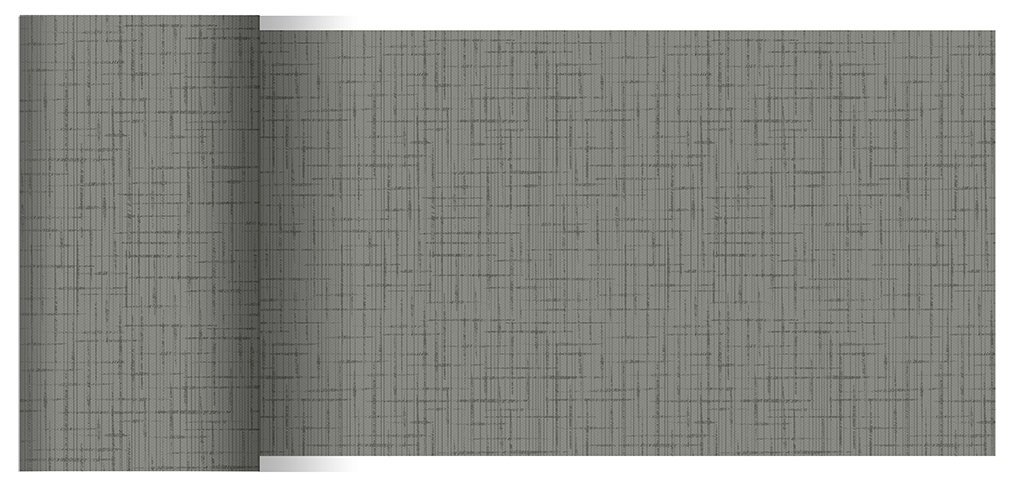 Duni Tischbänder Linnea Granite grau 0,15 x 20,00 m