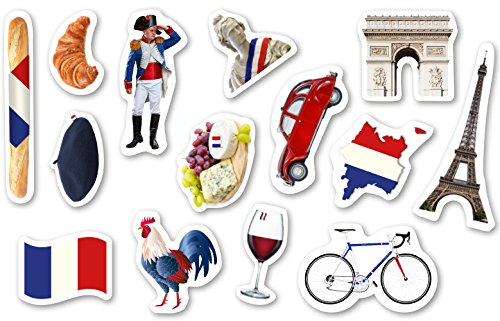 Frankreich Konfetti