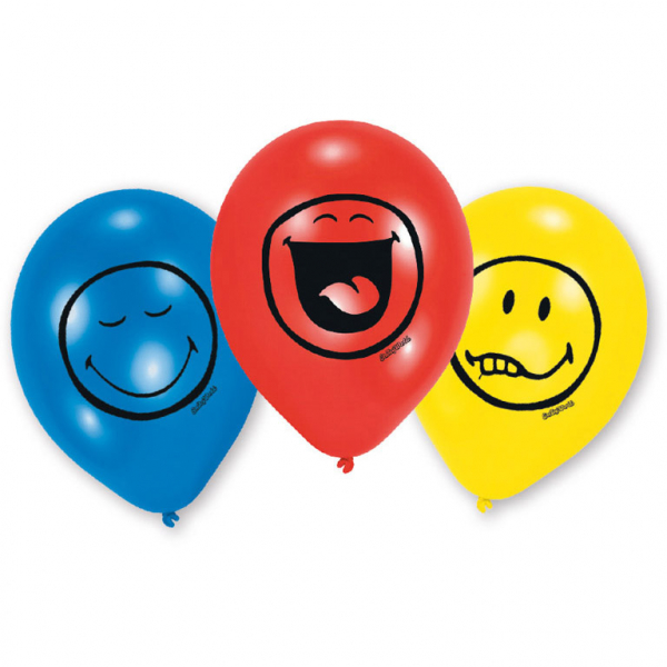 Smiley Express Yourself Party Luftballons