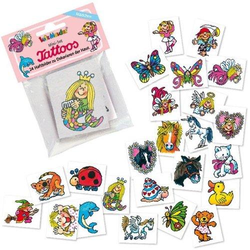 Mini Tattoos Set Mädchen