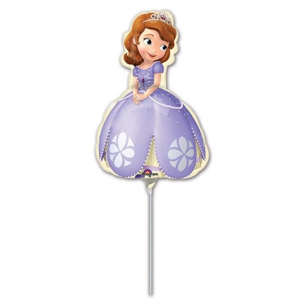 Disney Sofia the First Party Folienballon Luftballon am Stab