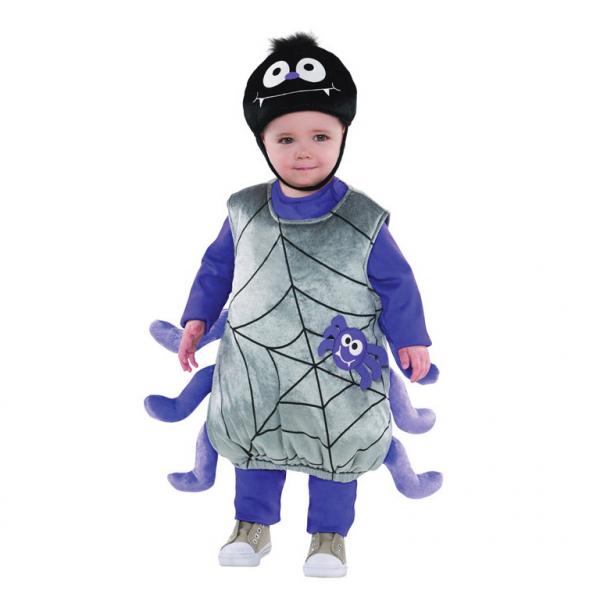 """""""Die kleine Spinne"""" Baby Kinder Kostüm 92 / 98 2 - 3 Jahre"""