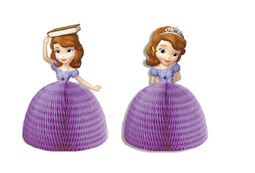 Disney Sofia the First Party Honeycomb Wabenbälle