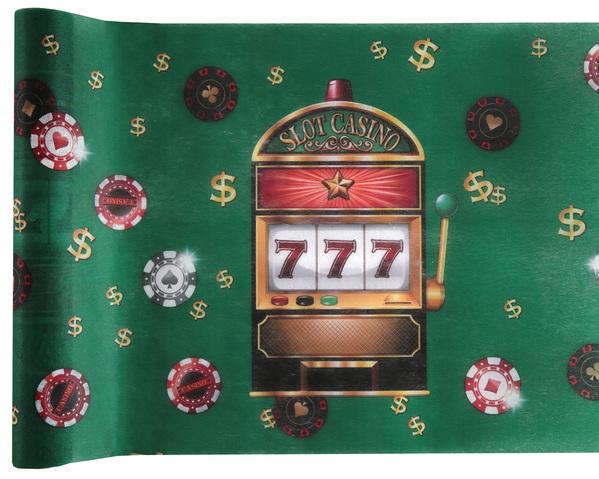 Tischband Tischläufer Spiel Automat Casino 777