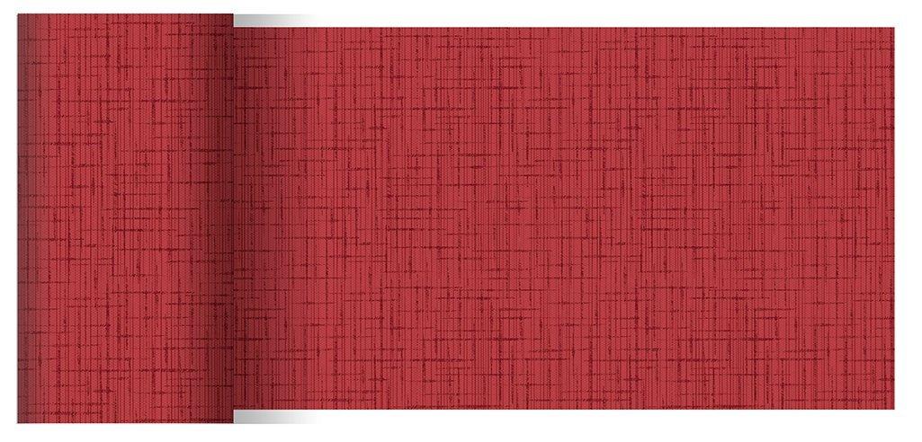 Duni Tischbänder Linnea bordeaux 0,15 x 20,00 m