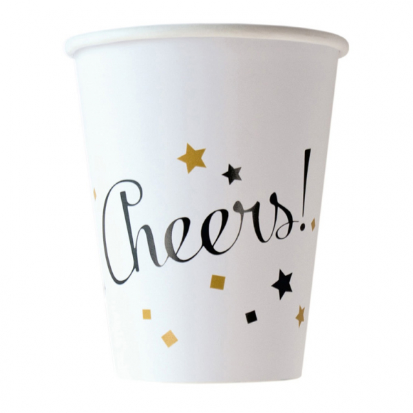 Party Becher Cheers! Silvester