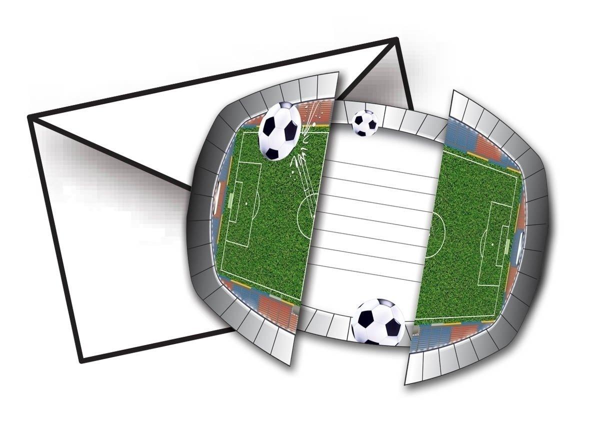 """Fußball """"Das Spielfeld! Party Einladungen"""