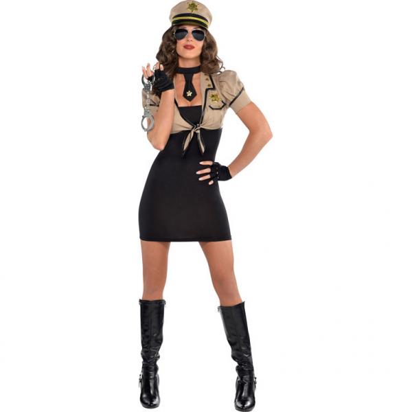 """Damen Kostüm Polizei """"Shakedown Sheriff"""" Gr.: 36 - 38 M"""