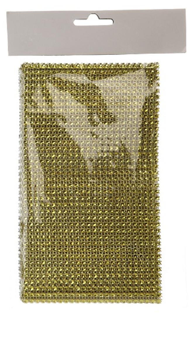 Tischband Tischläufer Glitzerstreifen 12 x 150 cm gold