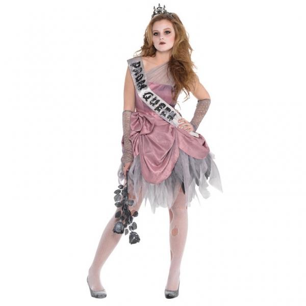 Mädchen Kostüm ZOM Queen Gr.: 142 - 162 12 - 14 Jahre