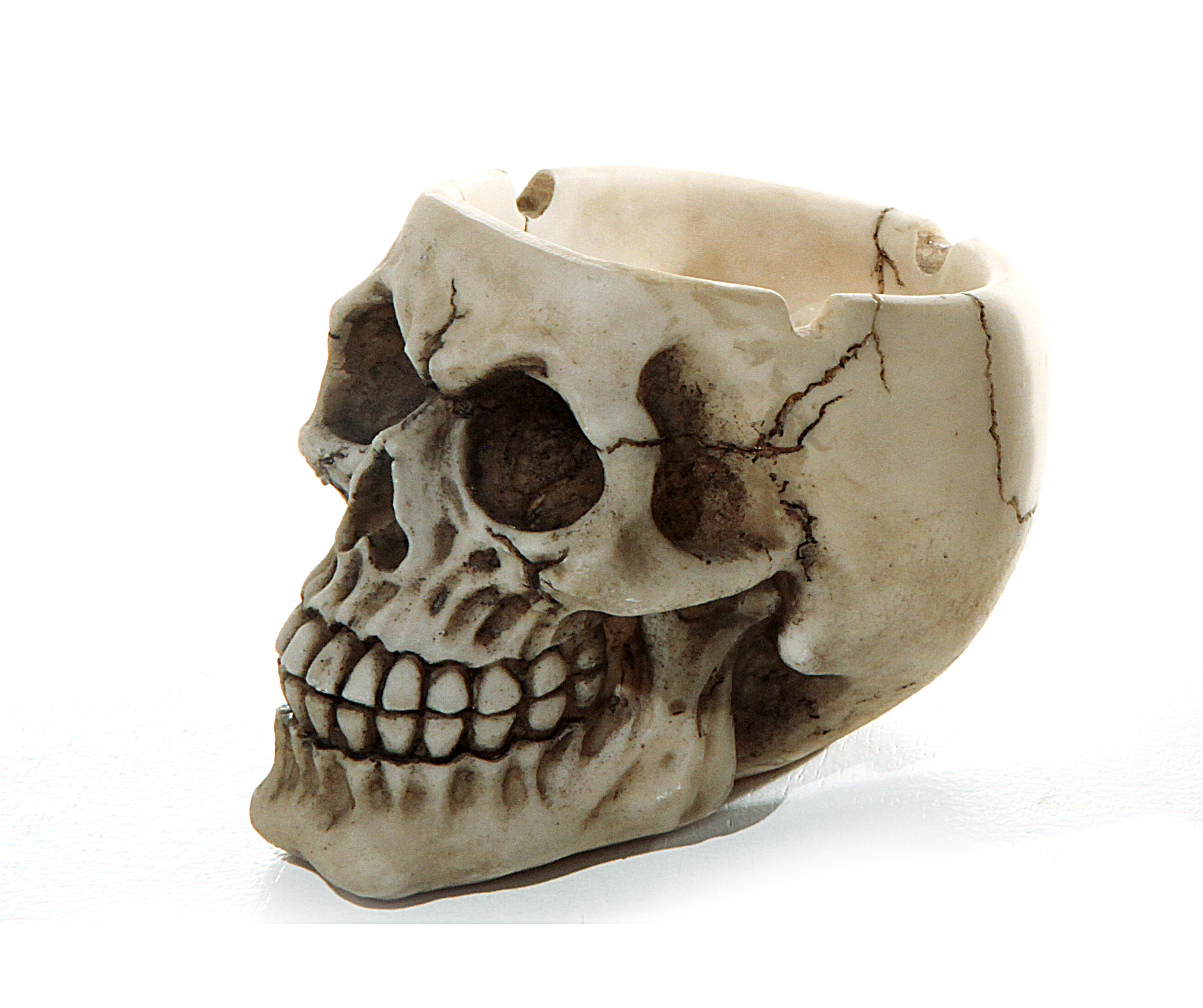 Halloween Totenkopf Aschenbecher