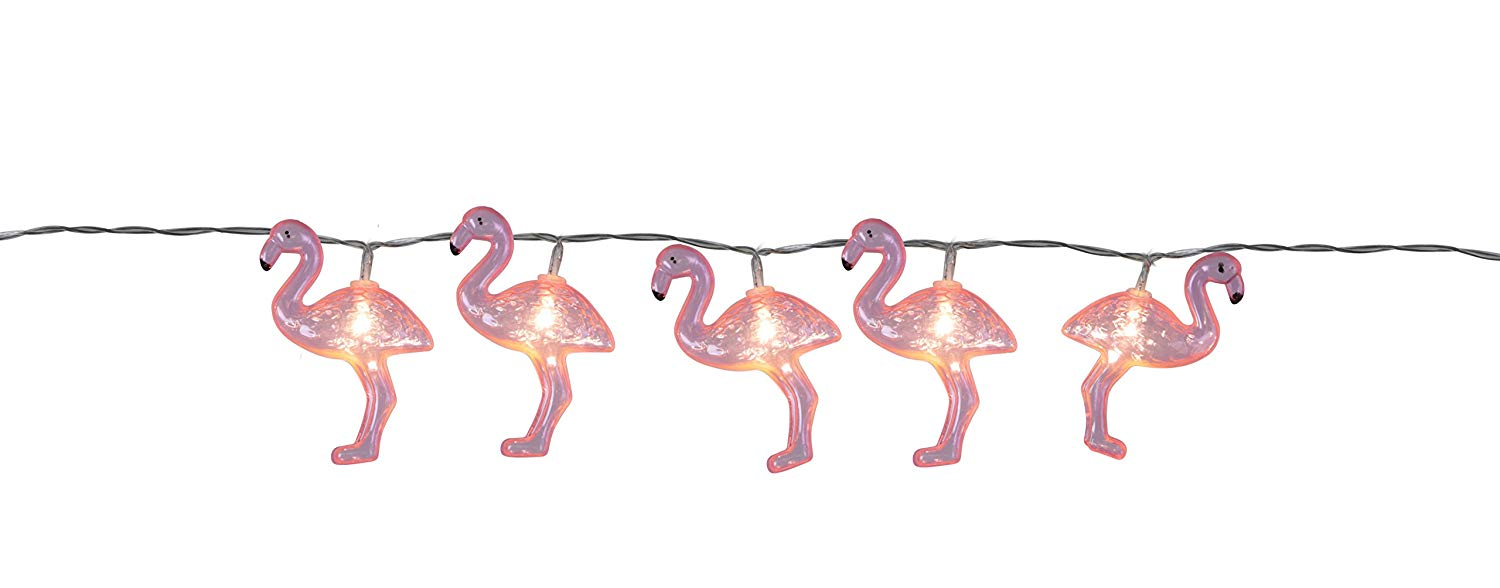Flamingo LED Lichterkette 1,65 m L