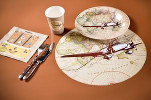 Ich gehe auf große Reise Tischset / Platzset