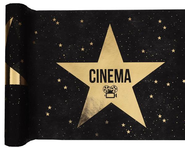Tischband Tischläufer Cinema Kino der goldene Stern