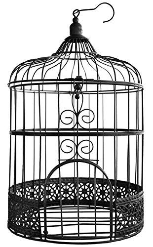 Geschenke- Brief- Geldbox Vogelkäfig schwarz