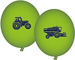 Party Bauernhof Luftballons 8 St. grün