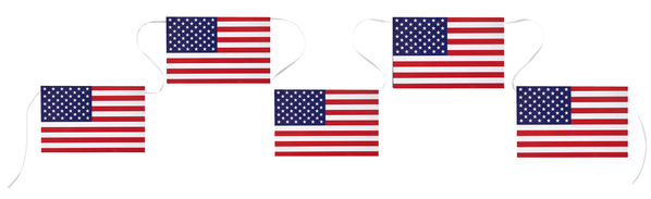 Amerika USA Party Girlande Flaggen Banner