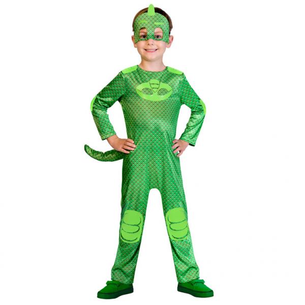 PJ Masks Gecko Jungen Kostüm Gr.: 104  3 - 4 Jahre