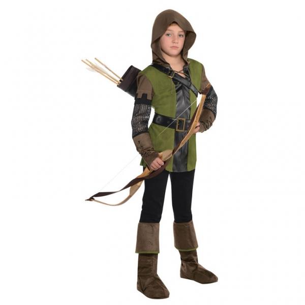 Kinder Kostüm Robin Hood Gr.: 142 -162 / 12 - 14 Jahre