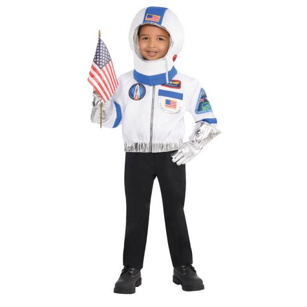 Kinder Kostüm Astronaut .Astronauten 5teilig Gr.: 110-122 4 - 6 Jahre