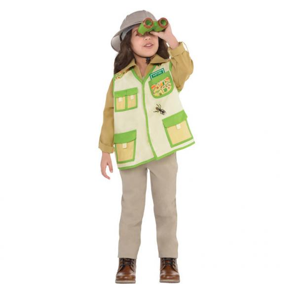 Kinder Kostüm Forscher Set Jungen / Mädchen Gr.: 110-122  4 - 6 Jahre