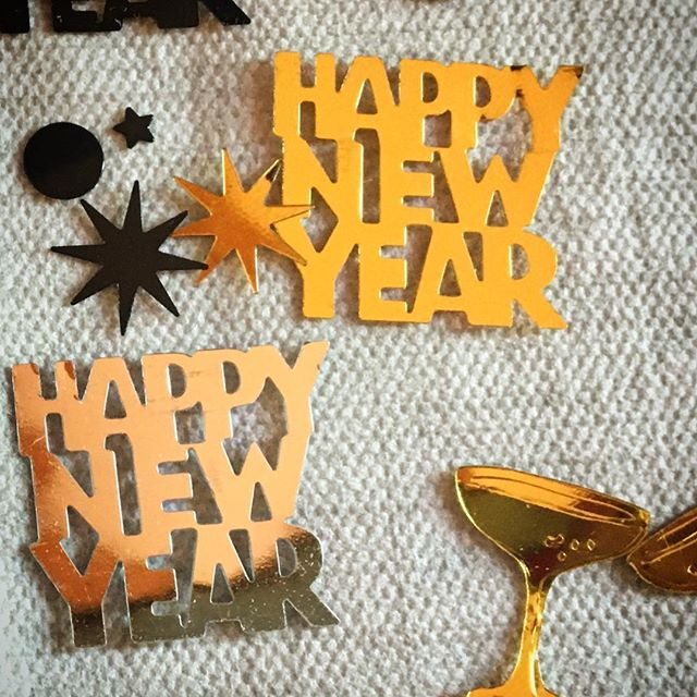 "Tisch Konfetti ""HAPPY NEW YEAR"" 123 456 ...12 Silvester"