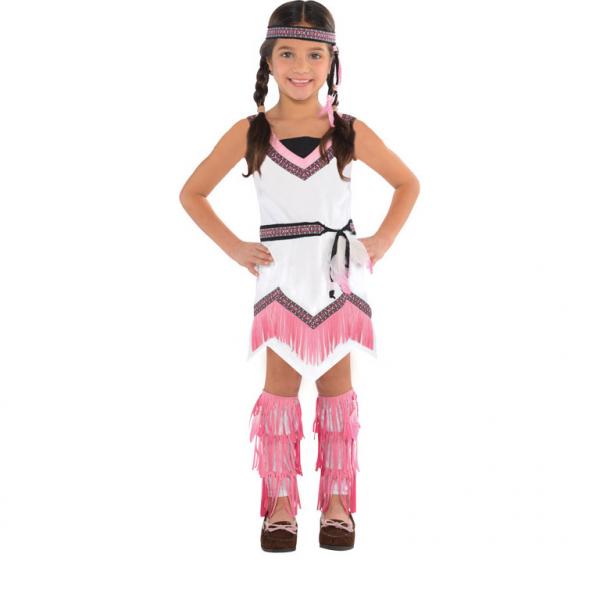 """Mädchen Kostüm Die Indianerin """"American Spirit"""" Gr.: 98 - 104  / 3 - 4 Jahre"""