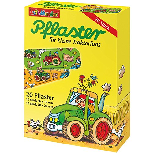 20 Kinderpflaster Traktor von Lutz Mauder