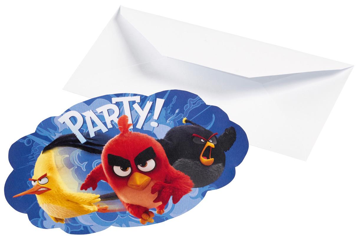 Angry Birds Party Einladungen zum Kinofilm