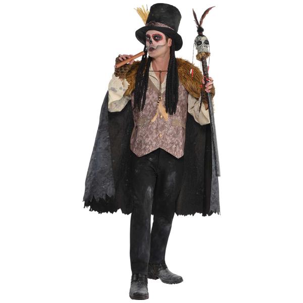 """Herren Kostüm der Hexendoktor """"Vodoo Zauber"""" Gr.: 44 - 46"""