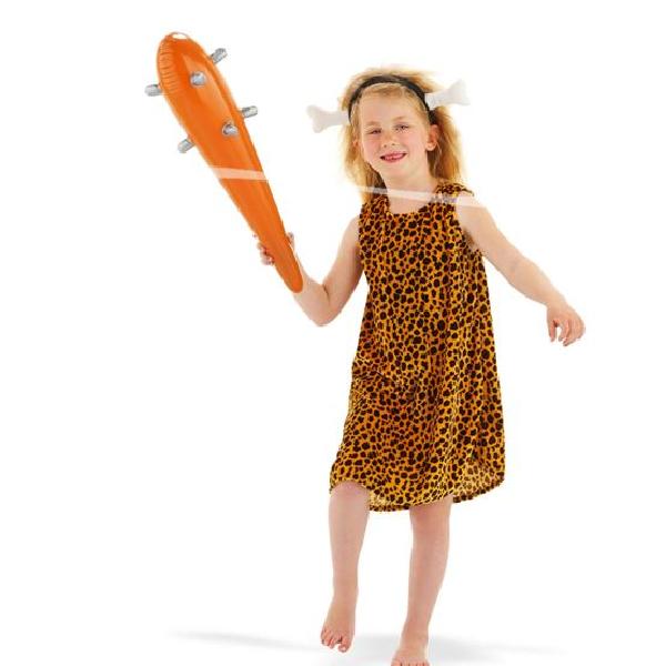 Kinder Kostüm Mädchen in der Steinzeit Gr.: 98 - 116 / 3 - 5 Jahre